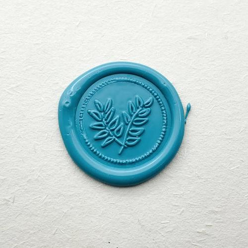 Leaves Wax Seal Stamp,Wedding Invitation Party Wax Seal Kit