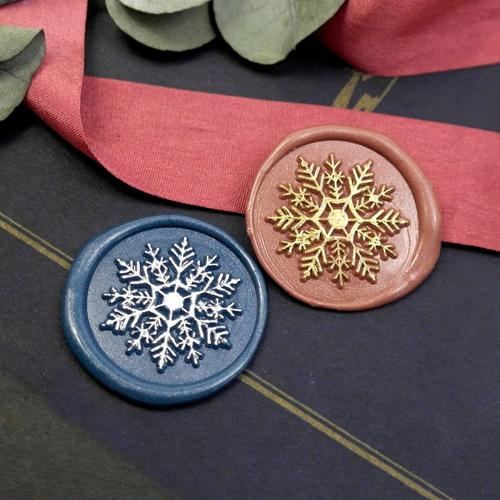 Snowflake Wax Seal Stamp Christmas Wax Seal Kit