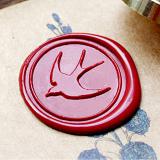 Swallow Wax Seal Stamp,Wedding Wax Seal Stamp