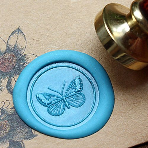 Butterfly Wax Seal Stamp,Wedding Wax Seal Stamp