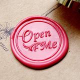 Open Me Wax Seal Stamp,Wedding Wax Seal Kit