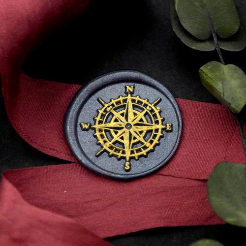 Vintage Compass Wax Seal Kit Helm Wax Seal Kit