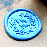 Personalized Monogram  Name Wax Seal Stamp Calligraphy Wax Seal