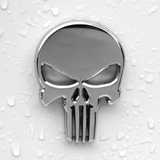 The Punisher Skull Car Sticker Custom Personalized Car Stickers for Club for Motorcycles Sports Cars Sedan Decals