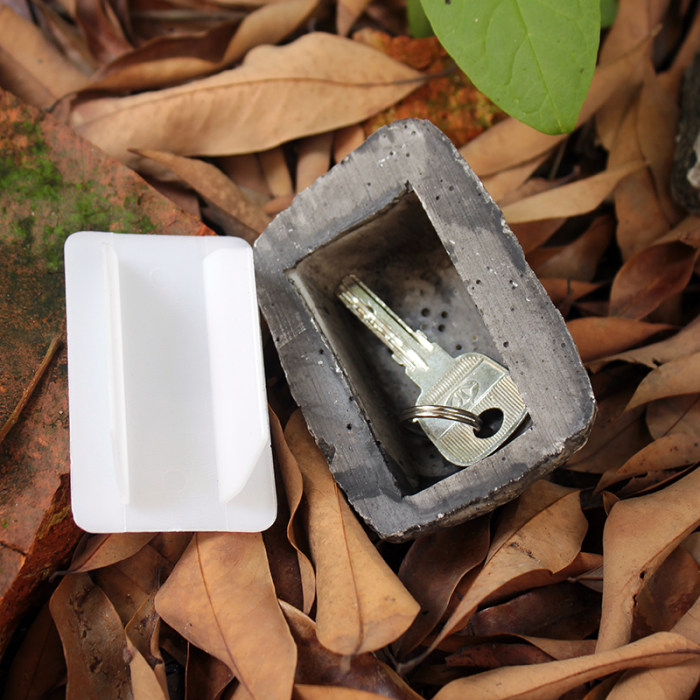 Spare Key Hiding Rock Key Safe Hidden Tray Keyholder Home Gadgets 2021 Hot Way to Hide The Spare Key