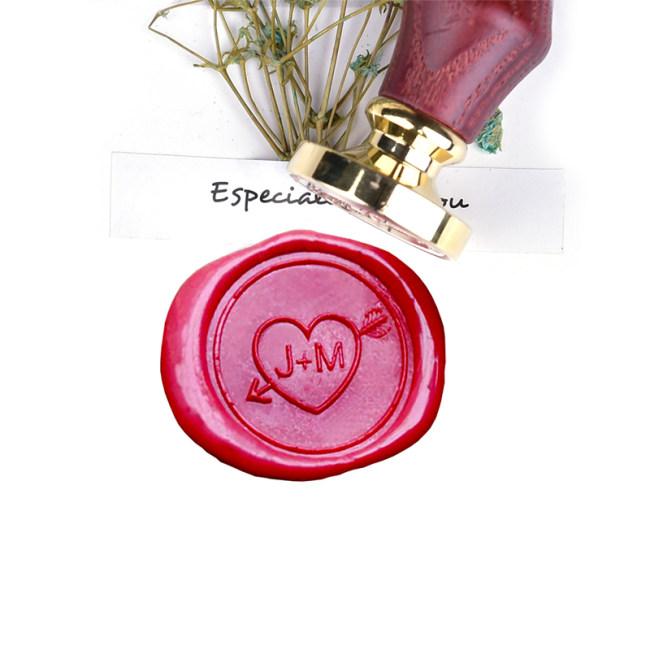 Custom Couple Wax Seal Stamp Sweetheart Gift idea