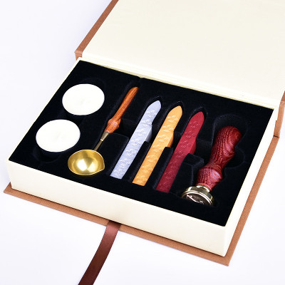 Wedding Invitation Sealing Wax Stamp Kits,Bow Wax Seal Stamp