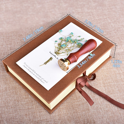 Moon and Star Wax Seal Stamp Kit Wedding Gifts Personalized Sealing Wax Stamp Gift for Girls