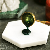 Genuine Marble Sealing Wax Stamp Plate Pads Coasters Mat Make Wax Seals in Bulk Stone Plate