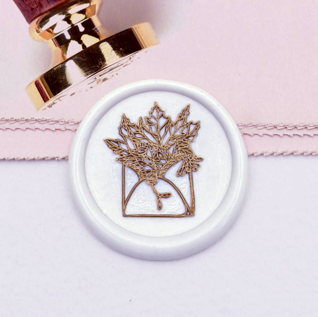 Floral Envelope Wax Seal Stamp Custom Sealing Wax Stamp Wedding Gifts Personalized Gifts