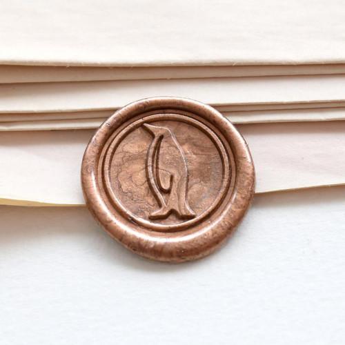 Penguin Wax Seal Stamp for Wedding Envelopes Personalized Sealing Wax Stamp Kit