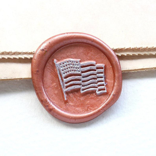 The American Flag U.S. Flag Wax Seal Stamp National Day Gift Custom Sealing Wax Stamp