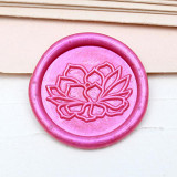 Succulent Plant Wax Seal Stamp Flower Shop Custom Sealing Wax Stamp