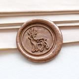 Deer Wax seal stamp,Christmas Wax Seal Kit,Christmas Gift idea