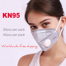 Professional KN95 N95 Multi-Purpose Valved Respirator 5 Layers FDA Approved Face Mask