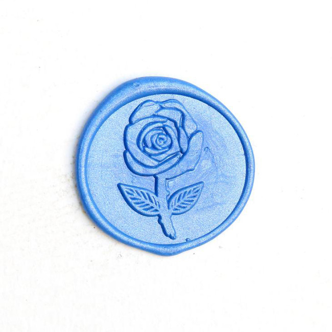 Rose Wax Seal Stamp Kit Wedding Invitation Wax Seals Personalized Gifts