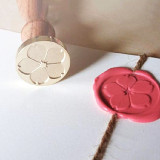 Japan Sakura さくら Cherry Blossom Wax Seal Stamp Custom Flower Sealing Stamp