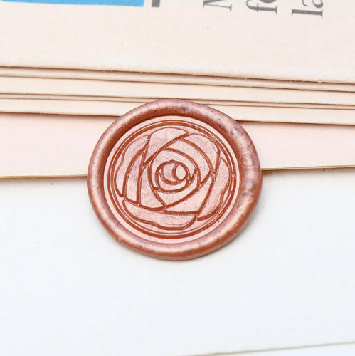 Flower Wax Seal Stamp Custom Sealing Stamp Personalized Birthday Gifts