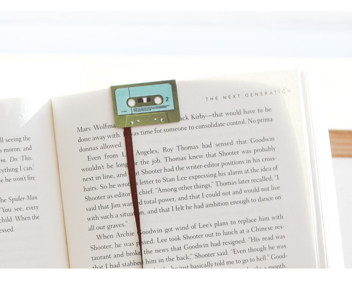 Cassette-bookmarks