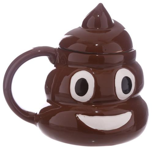 3D Poop Mug Poop Shaped Mug Gifts for Him Men Father Personalized Mug Initials Engraving
