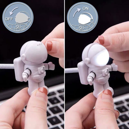Astronaut USB Night Light Flexible Spaceman USB Light for Laptop PC Notebook Gifts for Men