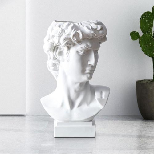David sculpture Vase Classic home Decor Home Office Gadgets Pen Container