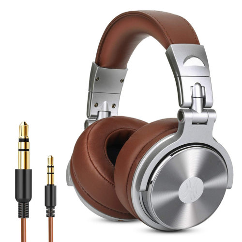 Professional Wired Binaural Meditation Headphones DJ Pro Headphone Gifts for Father Music Lover