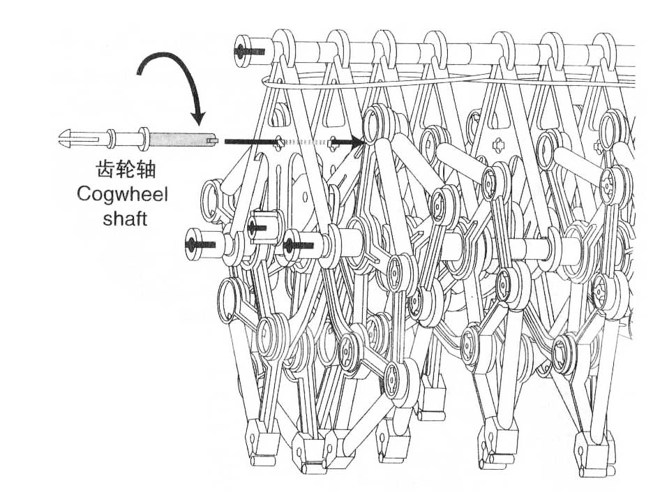 How to Assemble the Wind Powered Beast ? Strandbeest instructions