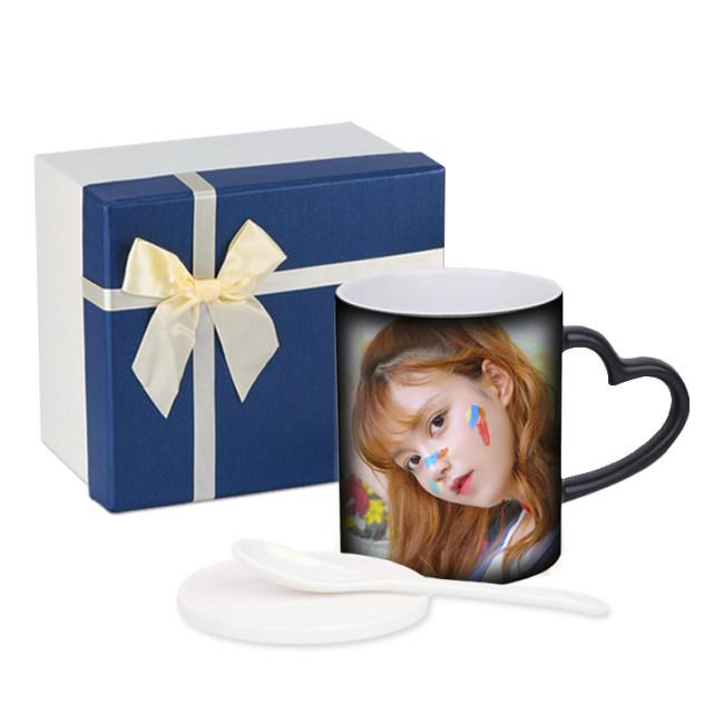Personalised Magic Mugs Online Personalized Heat Change Mug Heat Sensitive Coffee Mug Cups Gifts for Men Women