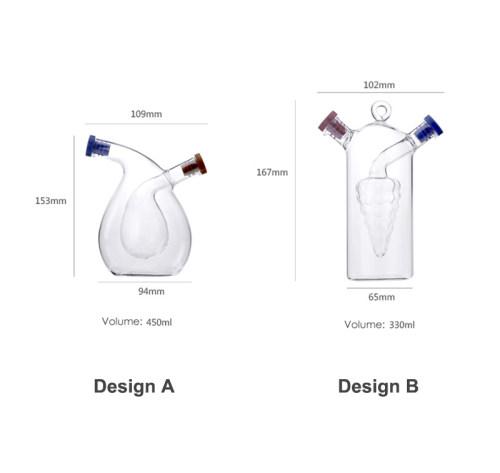 Olive Oil Dispenser Vinegar Bottle Cool Kitchen Gadgets Glass Olive Oil Dispensers Gifts for Mother