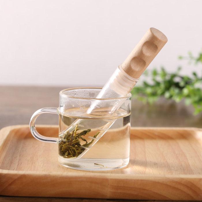 Test Tube Tea Infuser Glass Tube Tea Infuser FDA Approved Tube Shaped Tea Infuser : Veasoon