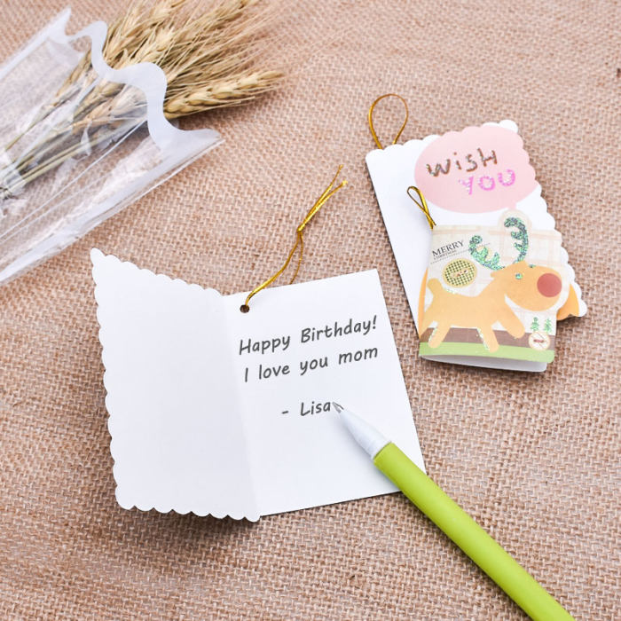 free gift message card