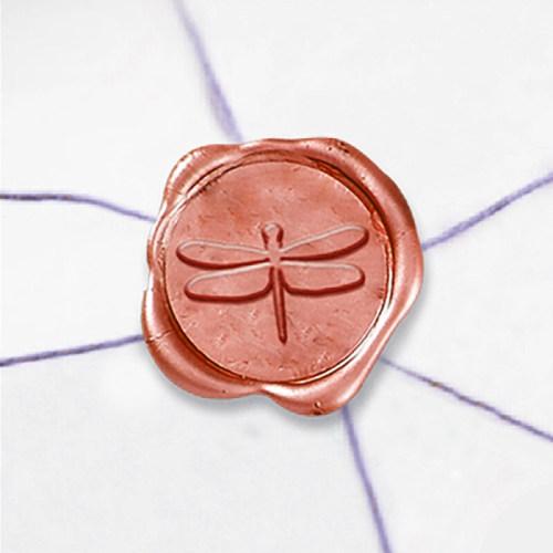Dragonfly Wax Seal Stamp Custom Logo Sealing Stamp Kit