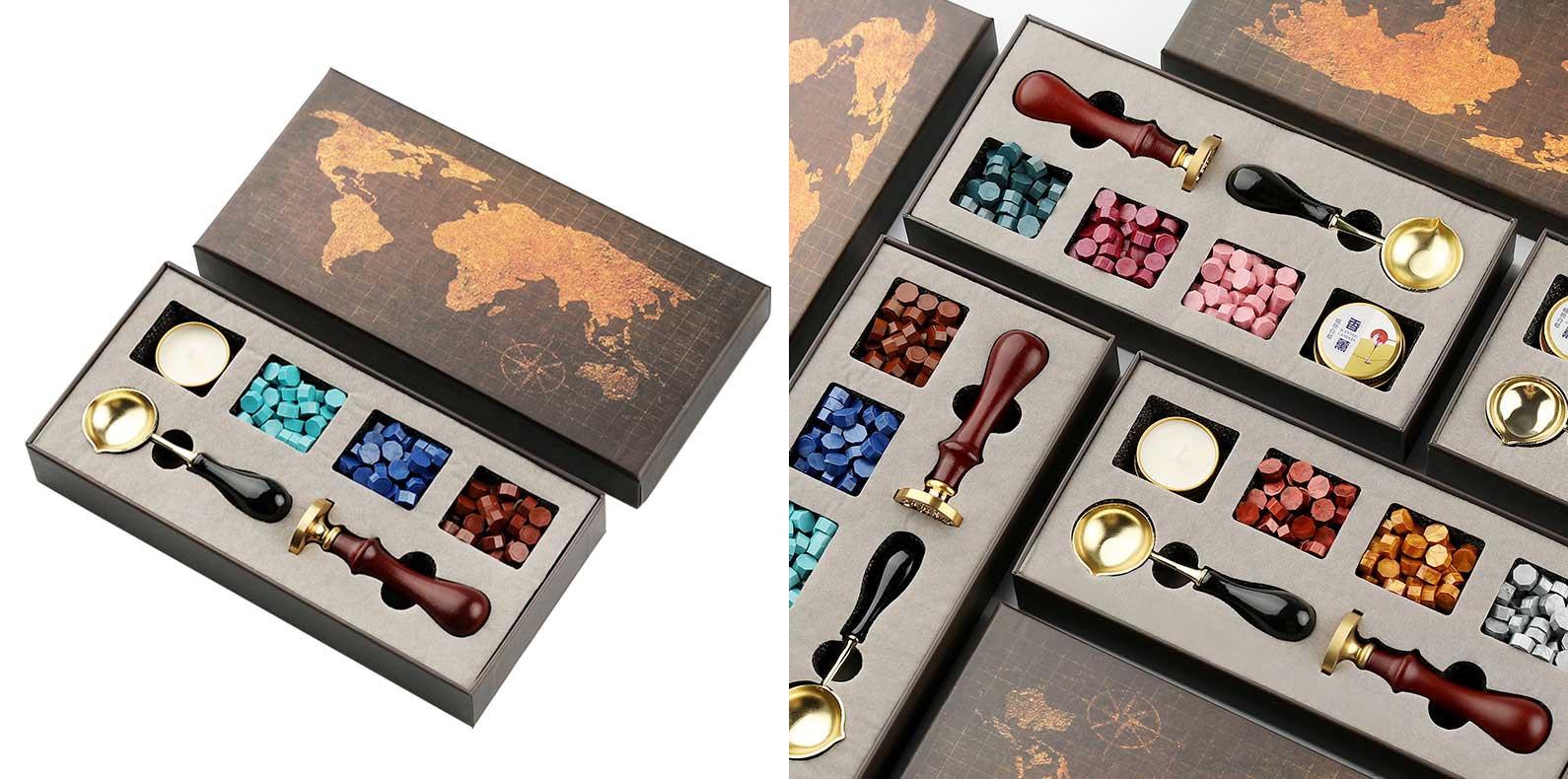 buy wax seal stamp kit gift box online