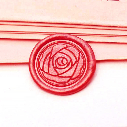Rose Flower Wax Seal Stamp Custom Sealing Stamp Personalized Birthday Gifts