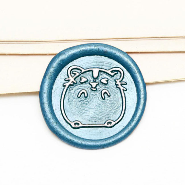 Hamster Wax Seal Stamp Customizable Sealing Stamp Customized Gifts
