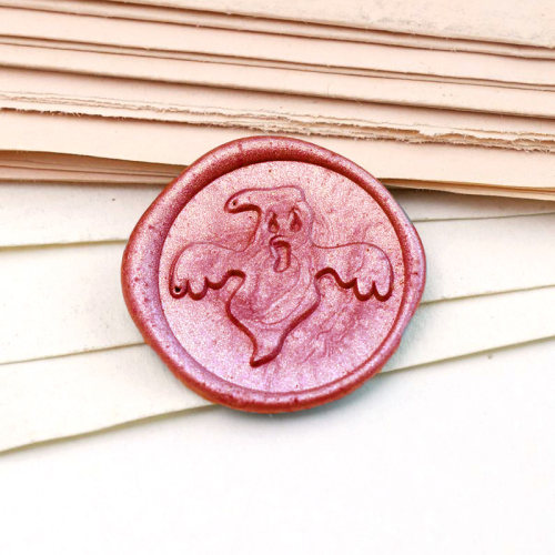 Ghost Wax Seal Stamp Custom Sealing Wax Stamp Kit Personalized Gifts