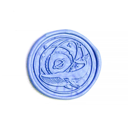 Blue Whale Wax Seal Stamp Personalized Wax Seal Stamp Kit
