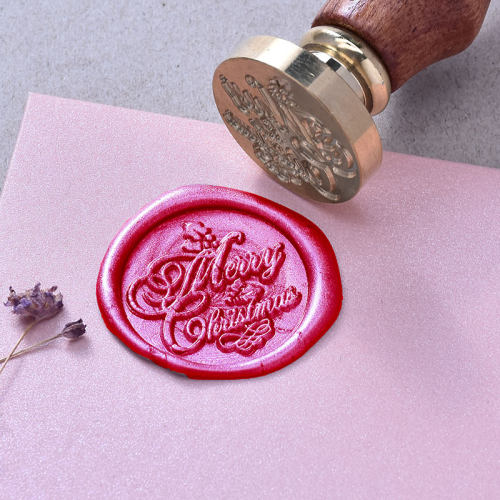 Merry Christmas Wax Seal Kit Personalized Wax Seal Kit Christmas Gifts
