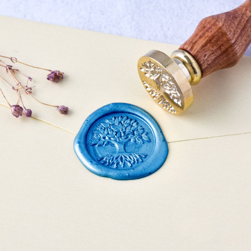 Tree Of Life Wax Seal Kit Best Gift Idea Personalized Wax Seal Stamp Online
