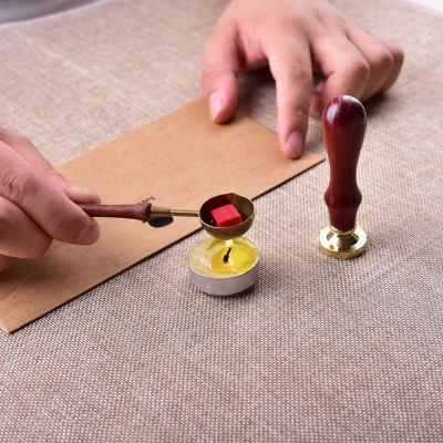 Floral Love Wax Seal Stamp Set Custom Wax Envelope Seal