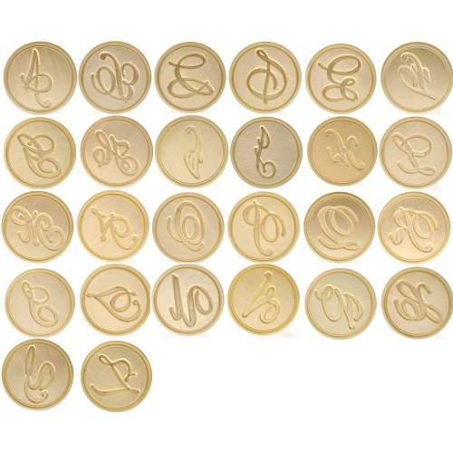 Wax Seal Stamp B 26 Alphabets Wax Seal Stamp Set