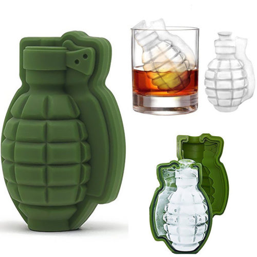 3D Grenade Ice Cube Tray Mold Military Gifts for Army Boyfriend Gift for Army Man