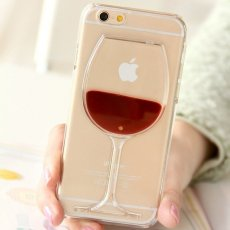 Red Wine iPhone Cases