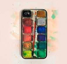Watercolors iPhone Case