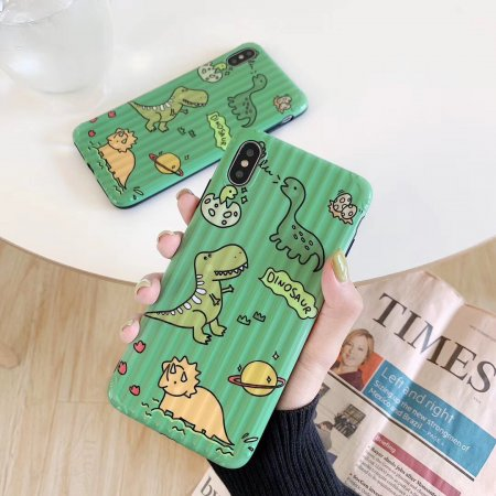 Dinosaur iPhone Case Cute iPhone Cases Green