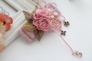 Retro style flower hairpin