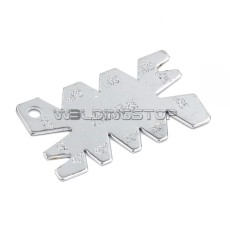 CNC Lather Cuting Angle Gage template Nickel plated measure scale