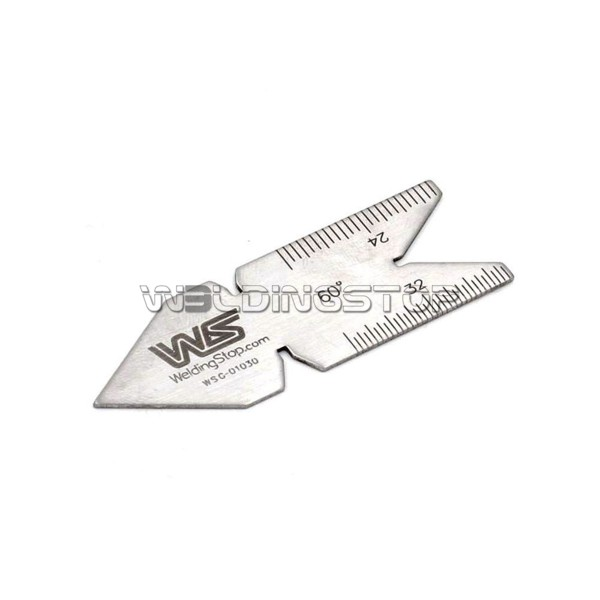 Center Gauge Unified 60 Degree Screw Thread Gage Embossed Scales 14ths 20ths 24ths 32ths
