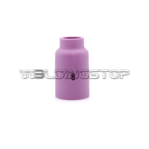 54N14 #8 Alumina Gas Lens Ceramic Nozzle 1/2'' 13mm fit TIG Welding Torch WP-17 WP-18 & WP-26